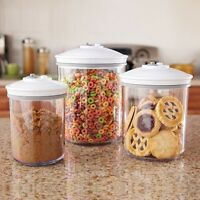 Foodsaver Canister Set Vacuum Sealer Food Saver Vacuum Containers 3pcs - No Tax on sale