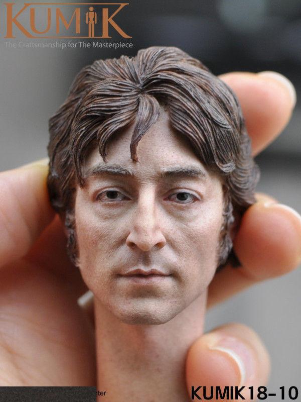 1 6 KUMIK KM18-10 Europe Male Head Sculpt For 12'' Action Figure