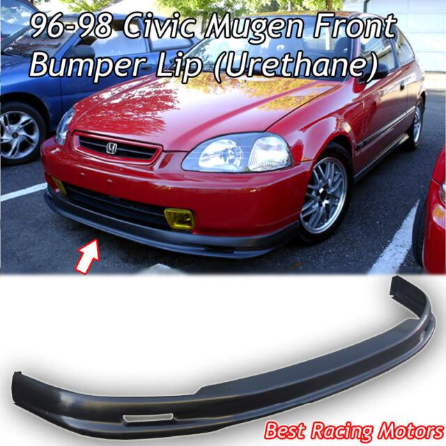 Mu-gen Style Front Bumper Lip (Urethane) Fits 96-98 Honda Civic 4dr