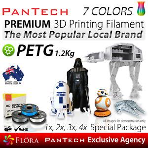 3D Printing Filament PETG Premium PanTech 1KG 1.75 mm Spool Reel for 3D Printer