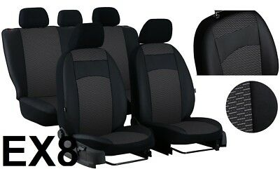 FORD GALAXY 7 SEATS Mk3 2006-2015 ECO LEATHER TAILORED SEAT COVERS