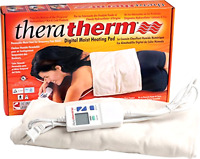 Digital Moist Heating Pad Temporary Pain Relief Therapy Large/standard 14 X 27
