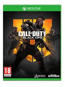 Microsoft Xbox One-call of Duty Black Ops 4 Game