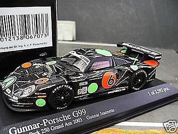 PORSCHE 911 GT1 G99  6 Gunnar My Favorites 2003 PMA Minichamps Sonderpreis 1 43  | König der Quantität