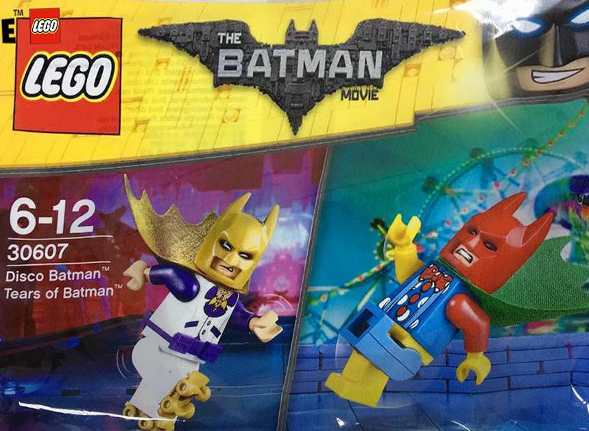 Lego 30607 Disco Batman And Tears Of Batman - Poly Bag