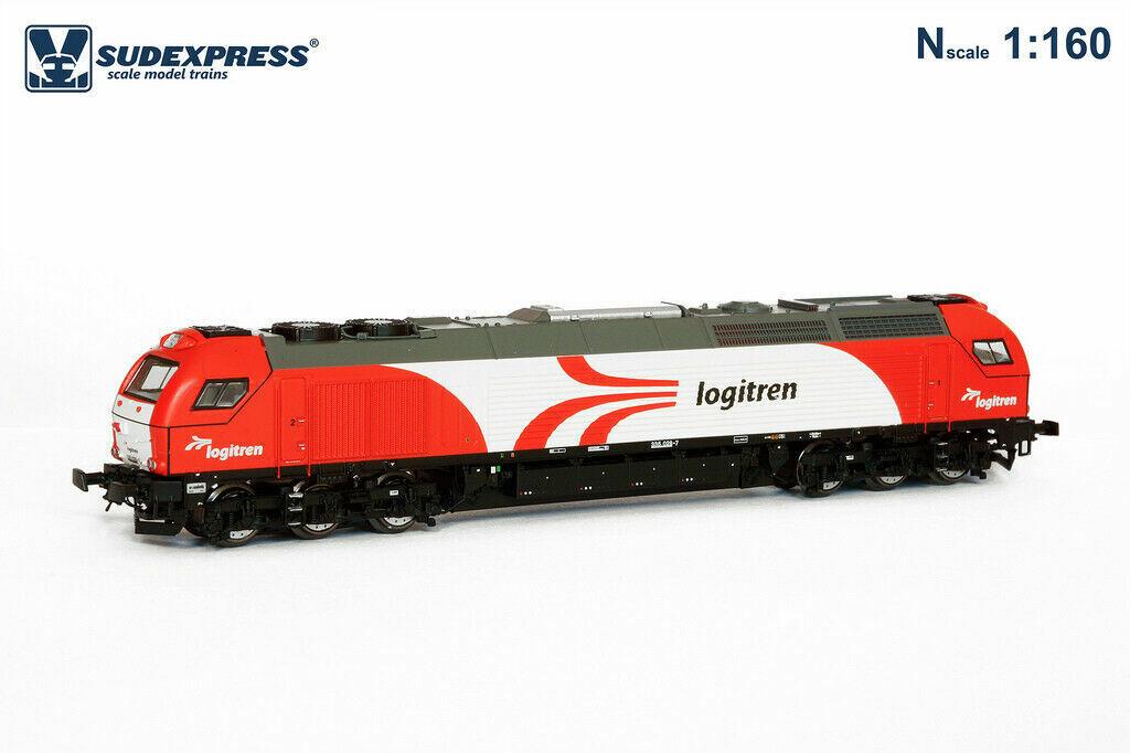 nuovo di marca Sudexpress scale modellolos- Euro 4000 335 Logitren Logitren Logitren - N scale 1 .160  profitto zero