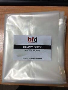 Image Is Loading Heavy Duty Mattress Storage Polythene Plastic Bag 500