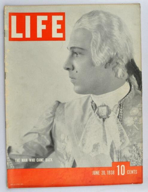 Vintage Life Magazine 1938 June 20 John Roosevelt George VI Bombing of Canton