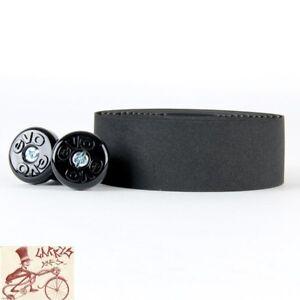 ORIGIN8 SOFTAC PERFORATED BLACK BICYCLE HANDLEBAR BAR TAPE