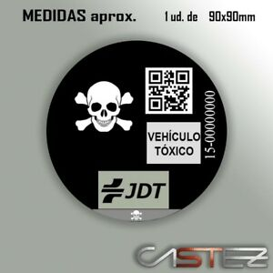 vinilo-adhesivo-pegatina-sticker-distintivo-ambiental-coche-vehiculo-toxico-jdt