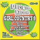 Party Tyme Karaoke: Girl Country 9 by Karaoke (CD, Sep-2011, Sybersound Records)