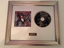 SIGNED/AUTOGRAPHED ALICE COOPER - WELCOME 2 MY NIGHTMARE CD FRAMED PRESENTATION