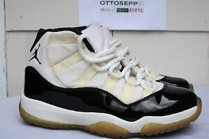 8 DS 1995 Air Jordan XI 11 OG Concord black white nike original vtg ... 7c821eb02