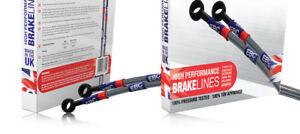 2006+ Models WG Braided Brake Line Hose Kit for BMW 3 Series E92 335d SE