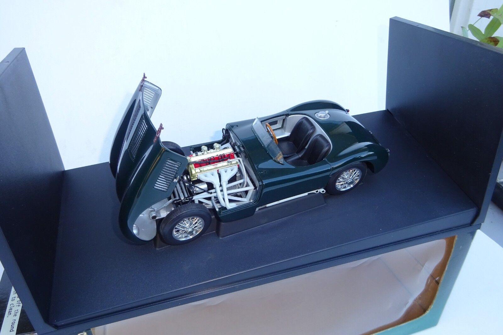 AUTOart 1 18 Jaguar C-type 1951 British Racing Grün 73500 M BOX TOP