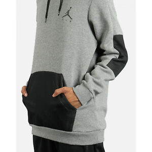 0fe1b9706237 New Men s Air Jordan Jumpman Hybrid Fleece Hoodie (939986-091 ...