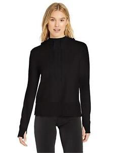 Essentials-Women-039-s-Studio-Terry-Long-Sleeve-Graphite-Size-Medium