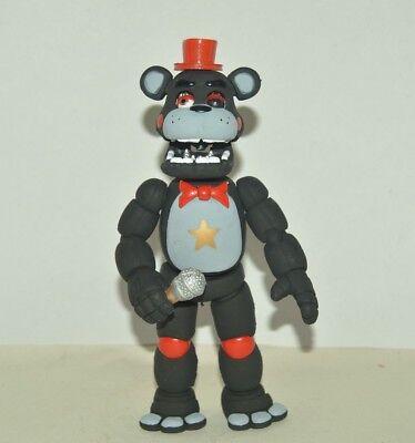 Five Nights at Freddys BLACK FREDDY 8 w light Animatronic MADE IN MEXICO fnaf