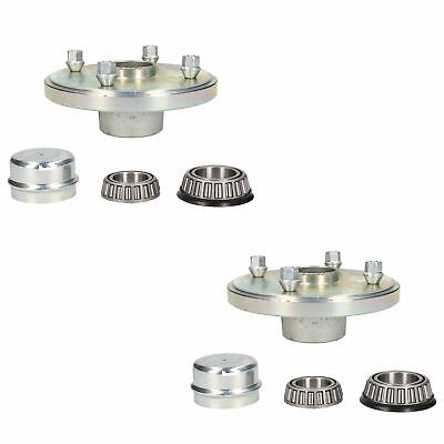 AB Tools 4 PACK 65mm Indespension Dust Cap Wheel Hub Trailer Bearing Grease Cover