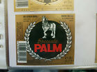 VINTAGE BELGIUM BEER LABEL. PALM BREWERY - PALM SPECIAL 30 CL