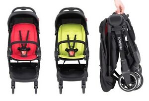 NEW - 2018 Phil & Teds GO Stroller with Bar and Seat Liner compact - ONLY 11LBS