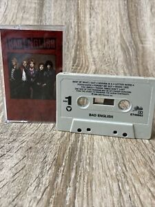 BAD ENGLISH (Self Titled) 1989 Cassette Tape - RARE. TESTED