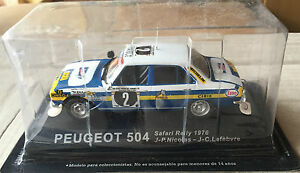 DIE-CAST-034-PEUGEOT-504-SAFARI-RALLY-1976-034-RALLY-DEA-SCALA-1-43