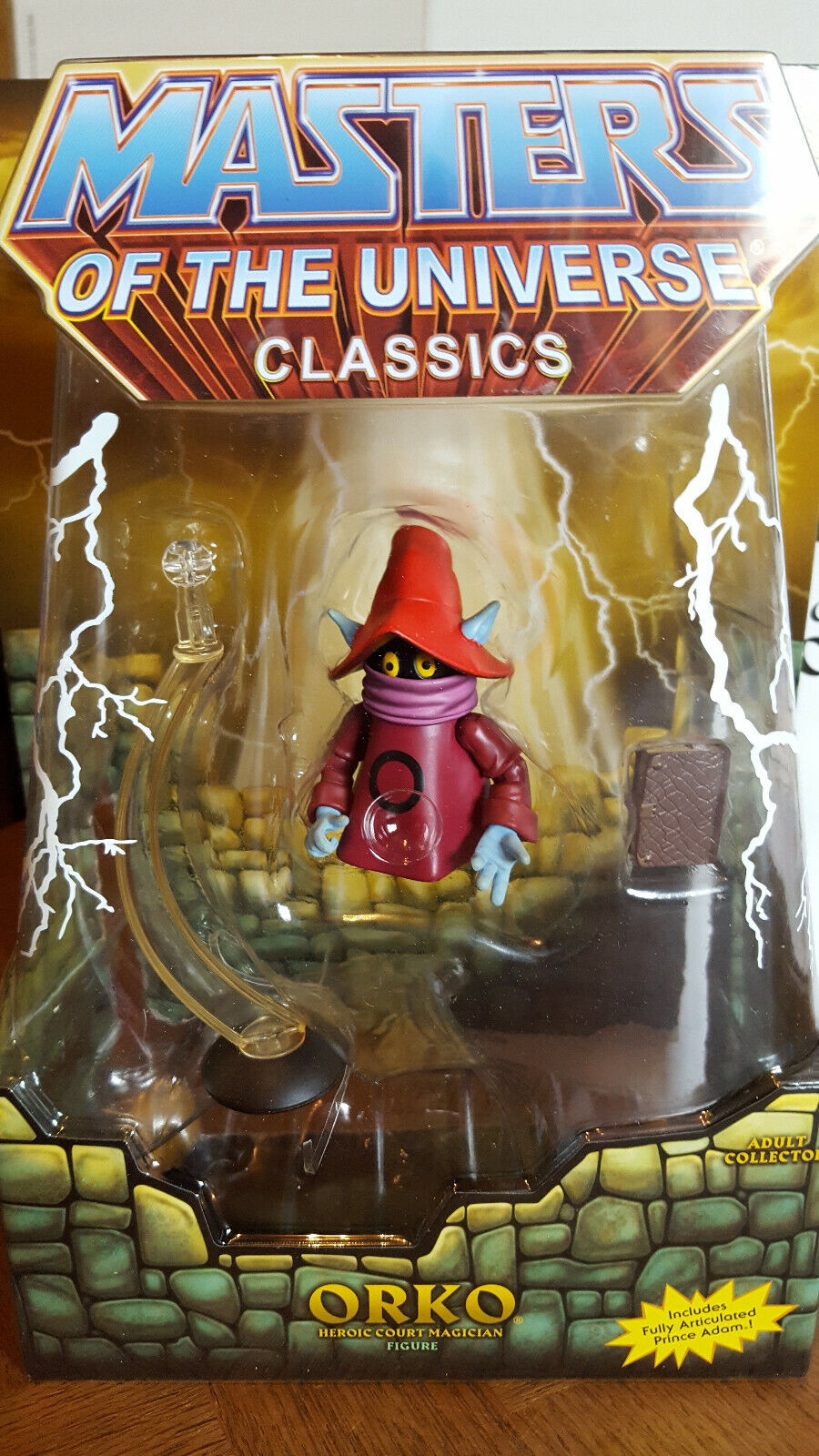 ORKO Masters Of the Universe Classics HE-MAN MOTUC