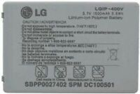GENUINE ORIGINAL OEM LG LGIP-400V FATHOM VS750 ALLY VS740 SBPP0027402 BATTERY