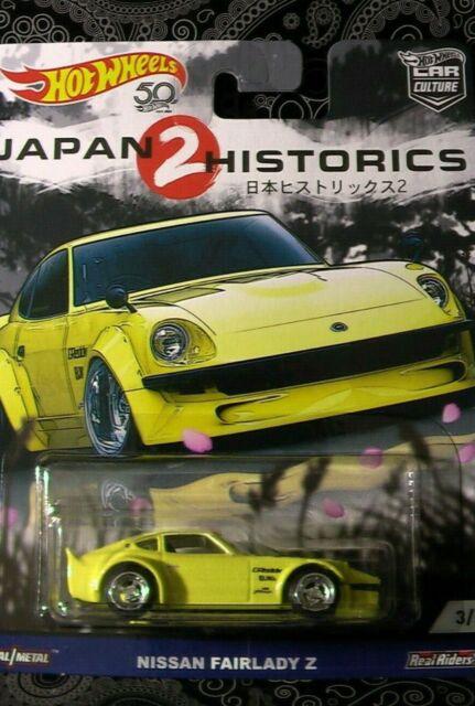Hot Wheels Nissan Fairlady Z Japón Historics 2 1//64