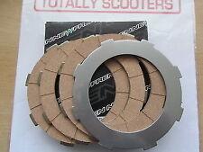 Clutch Plate Kit 4 Corks w// Steels Late Clutch Type Vespa Cosa PX P Range MY T5