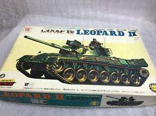 otaki 1/48 ot419300 german medium tank leopard II motorised vintage model kit