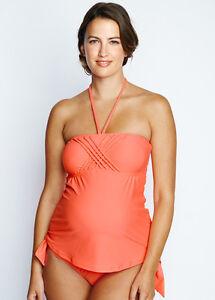 a07b916b45 NEW - Maternal America - Eva Tankini in Peach - Maternity Swimsuit ...