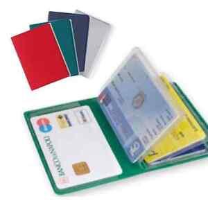 Porta carta di credito 6 ante patente tessera sanitaria for Carta di credito per minorenni
