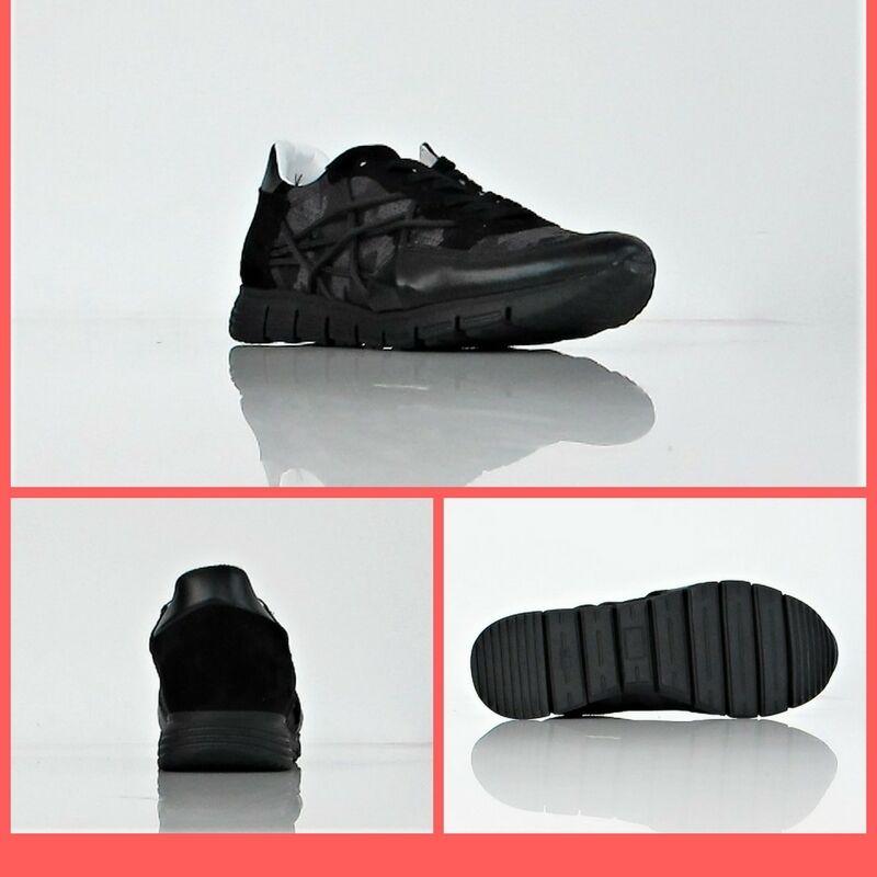 L4K3 Chaussures paniers Homme Mr Big 21 Camou Eva Col. Noir Camouflage Hiver
