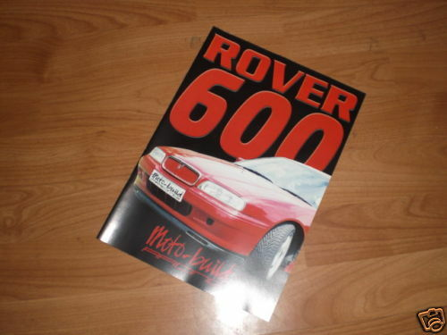 Moto-build Racing Parts /& Tuning catalogo ROVER 600