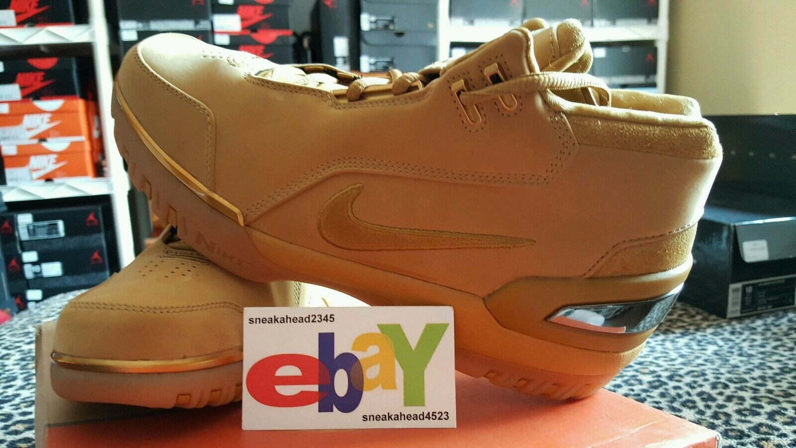 Nike Air Zoom Generation 1ST GAME 12/9/03 WHEAT/WHEAT-GOLD 308214 771 2018