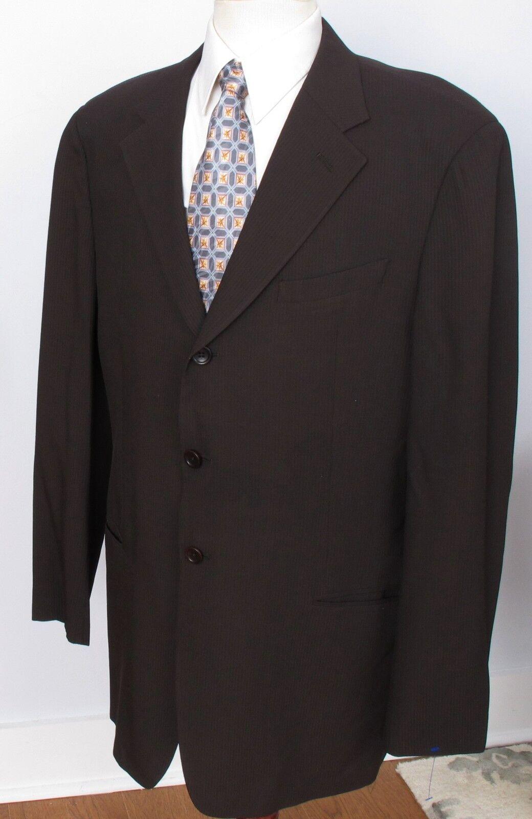 Giorgio Armani Collezioni Sport Coat 3 Button Wool Blend 44L PERFECT