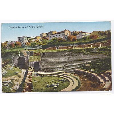 Ansichtskarte AK: Fiesole - Avanzi del Teatro Romano