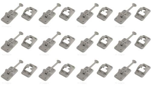 RV Designer E234 Door Catch For Keeping RV Doors Open T-Style 12 PACK