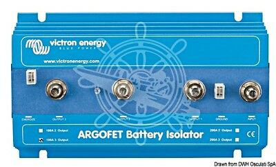 ARG200201020R Victron Energy ARGO FET Battery Isolator 200-2 Two batteries 200A