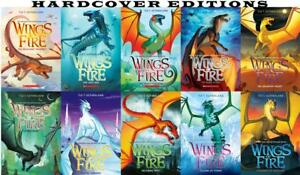 Tui-T-Sutherland-WINGS-OF-FIRE-Series-HARDCOVER-Collection-Set-of-Books-1-10