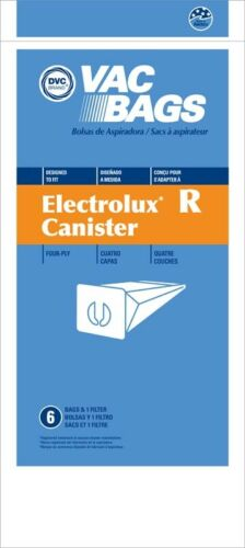 Electrolux Style R Canister 4ply Vacuum Cleaner Bags by DVC Made in USA