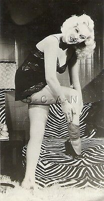 Original Vintage 1940s-50s Nude RP- Housewife- Lingerie