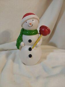 Hallmark Collectible RARE Jolly In The John Talking Singing Snowman Christmas