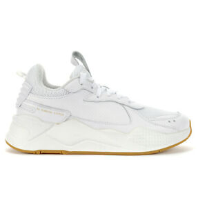 Puma-Men-039-s-RS-X-Blanco-Puma-White-Gum-Sneakers-37404701-NEW