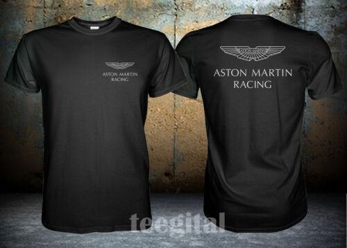 Herren Aston Martin Racing Supercar Logo T Shirt Eurodite