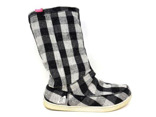 NEW Women/'s ROXY Cedar Casual Boots Black//Gray 198MNO sm