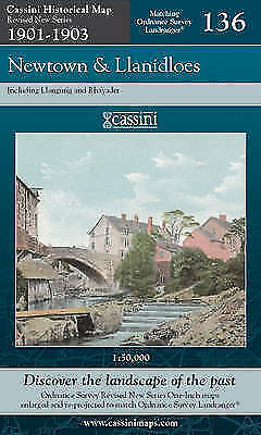 Newtown and Llanidloes (Cassini Revised New Series Historical Map), Ordnance Sur