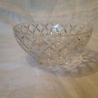 Vintage Lenox Crystal Small Bowl - Diamond Pattern